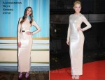 Amber Heard In Alessandra Rich - 'The Rum Diary' London Premiere