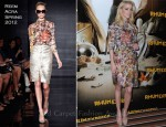 Amber Heard In Reem Acra - 'The Rum Diary' Paris Photocall
