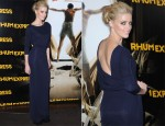 Amber Heard In Stella McCartney - 'The Rum Diary' Paris Premiere