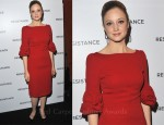 Andrea Riseborough In Andrew Gn - 'Resistance' London Premiere