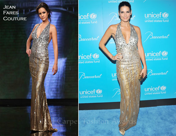 Angie Harmon In Jean Fares Couture - 8th Annual UNICEF ...