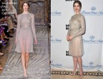 Anne Hathaway In Valentino Couture - Princess Grace Foundation Annual Gala