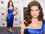 Ashley Greene In Donna Karan - Avon Foundation For Women Global Voices For Change Gala