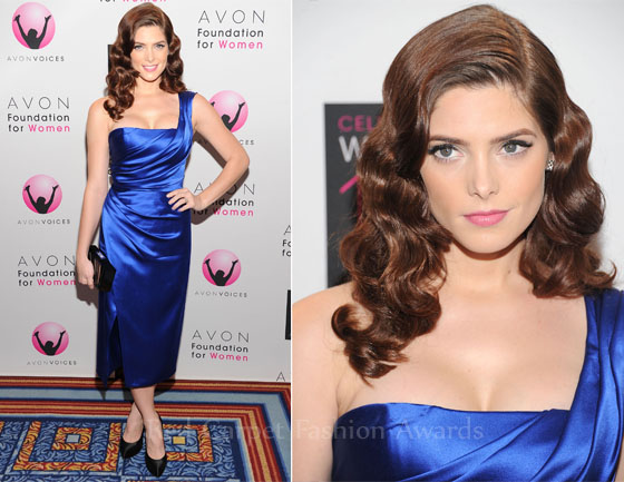 Fashion Police - Page 5 Ashley-Greene-In-Donna-Karan-Avon-Foundation-For-Women-Global-Voices-For-Change-Gala