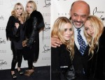 Ashley & Mary-Kate Olsen - Christian Louboutin's Barney's New York Cocktail Party