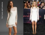 In Ashley Tisdale's Closet - For Love & Lemons Scarlet Dress