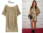 In Audrina Patridge's Closet - Vince Sequin-Embellished Crepe Dress