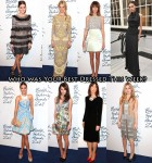Who Was Your Best Dressed At The 2011 British Fashion Awards?