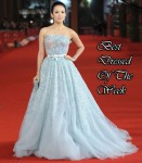 Best Dressed Of The Week - Zhang Ziyi in Christian Dior