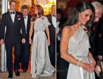 Catherine, Duchess Of Cambridge In Jenny Packham - The National Memorial Arboretum Appeal Dinner