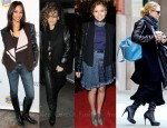 Celebrities Love...Leather Sleeves
