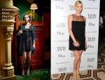 Charlize Theron In Christian Dior - 'Young Adult' New York Screening