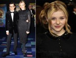 Chloe Moretz In Emilio Pucci - 'Hugo' 3D Royal Film Performance