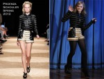 Chloe Moretz In Proenza Schouler - Late Night with Jimmy Fallon