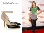In Chloe Moretz' Closet - Stella McCartney Faux Patent-Leather Pumps