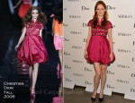 Coco Rocha In Christian Dior - 'Picturing Marilyn' Exhibition Opening