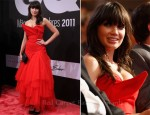 Daisy Lowe In Vivienne Westwood - GQ Man Of The Year Award 2011