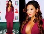 Demi Lovato In Roland Mouret - 2011 Latin Grammy Awards