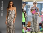 In Denise Richards' Closet - Blu Moon Summer Lovin' Maxi Dress