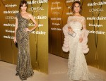 Celebrities In Elie Saab At The 2011 Marie Claire Prix de la Moda Awards