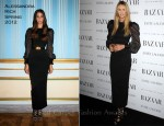 Elle Macpherson In Alessandra Rich - Harper's Bazaar Women Of the Year Awards 2011