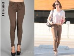In Emily Blunt's Closet - J Brand Jodhpur Low-Rise Modern Riding Pants