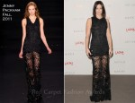 Emily Blunt In Jenny Packham - LACMA's Art and Film Gala