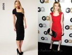 In Emma Roberts's Closet - ASOS Square Neck Cap Sleeve Body-Conscious Dress