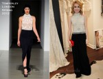 Emma Roberts In Temperley London - 'True British' Book Launch