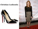 In Emma Stone's Closet - Christian Louboutin Pigalle Patent Leather Pumps