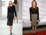 Emma Stone In Calvin Klein - Worldwide Orphans Foundation's Seventh Annual Benefit Gala