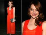Emma Stone In Carven - 2011 American Museum Of Natural History Gala