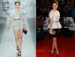 Emma Watson In Jason Wu - 'My Week With Marilyn' London Premiere