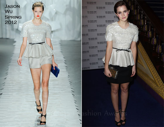 Emma Watson In Jason Wu – 'My Week With Marilyn' London Premiere