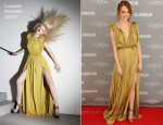 Emma Stone In Lanvin - Glamour's 2011 Women Of The Year Awards