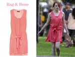 In Emma Stone's Closet - Rag & Bone Amelot Crepe Dress