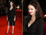 Eva Green In Alexander McQueen - 'The Rum Diary' London Premiere