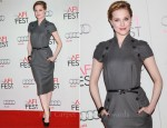 Evan Rachel Wood In Christian Dior - 2011 AFI Fest: LA Times Young Hollywood Roundtable