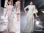 Fan Bingbing In Elie Saab Couture - People of the Year Awards 2011 by Bazaar Men