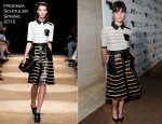 Felicity Jones In Proenza Schouler - The Hollywood Reporter's Annual Next Gen Reception
