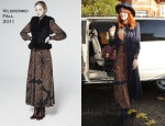Florence Welch In Vilshenko - BBC Radio 1's 'Live Lounge'