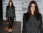 Gemma Arterton In Viktor & Rolf and Balmain - 57th Evening Standard Theatre Awards
