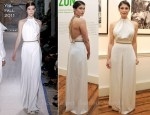Gemma Arterton In YSL - Amazon: An Exhibition In Aid Of Sky Rainforest Rescue
