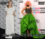 Best Dressed Of The Week - Gillian Anderson In Vintage Dior & Nicki Minaj In Oscar de la Renta