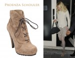 In Gwyneth Paltrow's Closet - Proenza Schouler Lace Up Boots