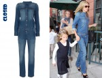 In Heidi Klum's Closet - Closed Denim Jumpsuit