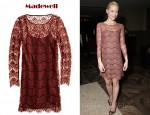 In Jaime King's Closet - Madewell Flowerlace Dress
