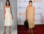 In Jamie Chung's Closet - Sunner Oak Long Dress