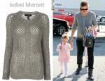 In Jennifer Garner's Closet - Isabel Marant Loose Knit Jumper