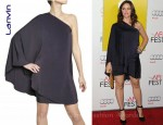 In Jennifer Garner's Closet - Lanvin Washed Viscose Twill Dress
